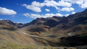 山と青空と雲