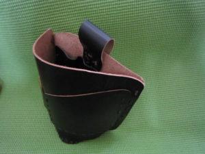 レザークラフト 自作腰袋