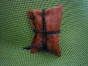 レザークラフト 小物袋