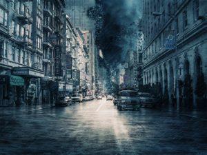 災害時の都市